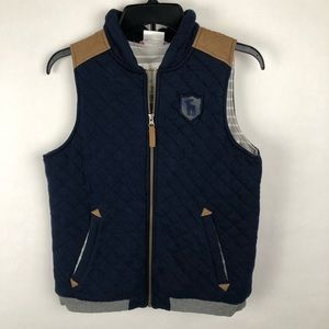 Hanna Andersson Quilted Vest Jacket Camp Size 150